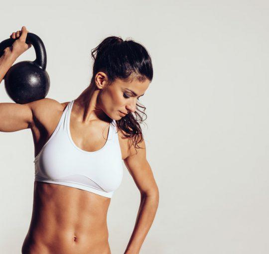 kettlebell fitness schema voor vrouwen