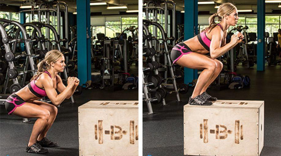 Waarom elke vrouw box jumps zou moeten doen?