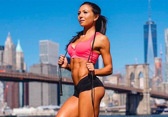 Het Fitness schema van Ashley Nocera