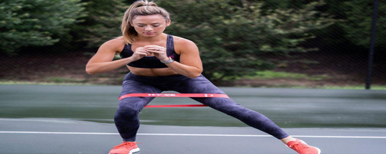 Mooie billen en benen trainen met de Resistance band workout