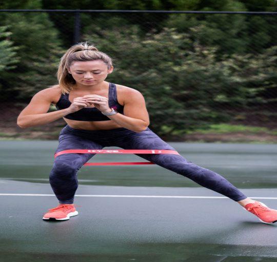 Resistance band workout: benen & billen trainen