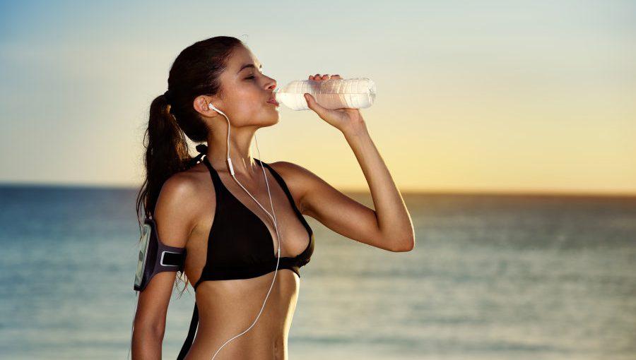 Niet afvallen door te weinig water drinken