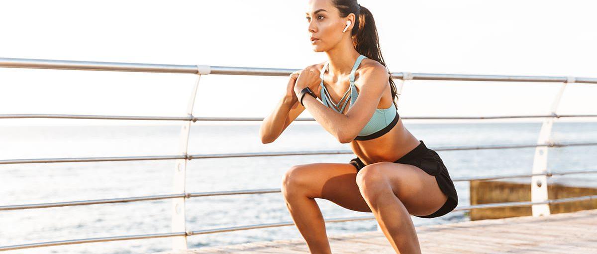 Hoe moeten vrouwen hun benen trainen